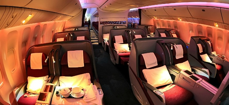 Traveling With Infant Business Class