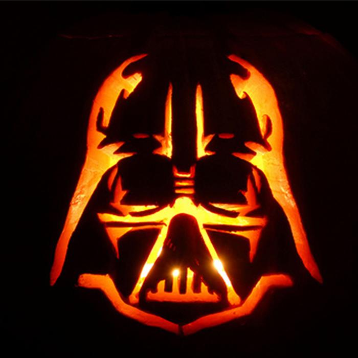 Darth Vader Pumpkin 700x700