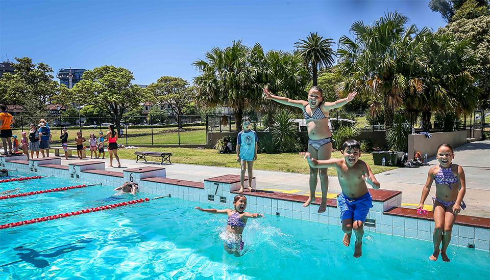 Victoria Park Pool Sydney