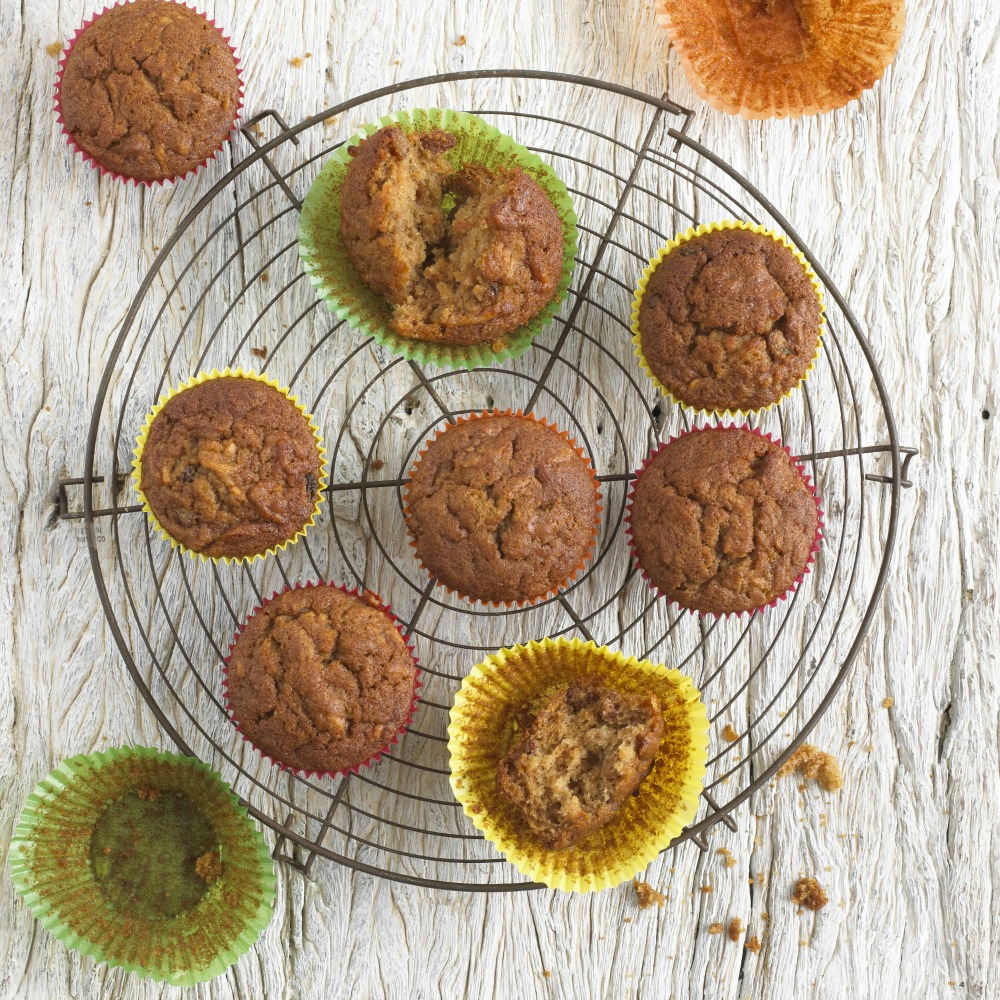 Carrot, Apple & Sultana Muffins 3862 46656
