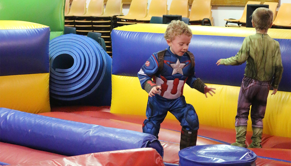 Cool Cats Indoor Birthday Party Venue Randwick - Inflatable Fun 2 960x500