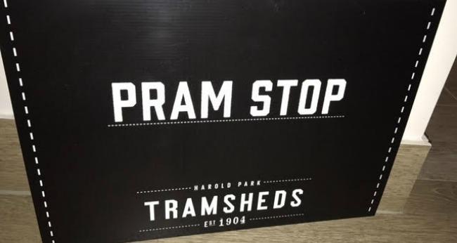 pram stop
