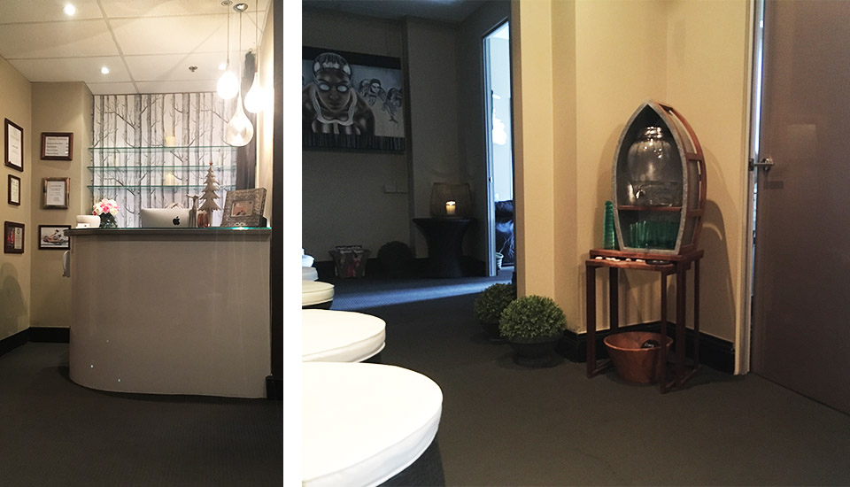 Jackie's Sports Massage Sydney CBD - Reception Area 960x550