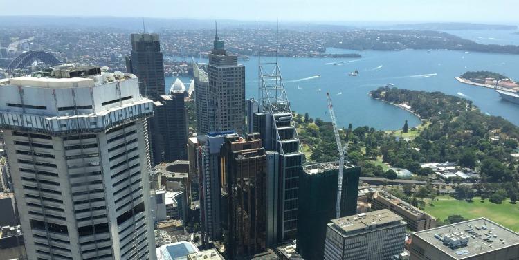 amaazing views of Sydney