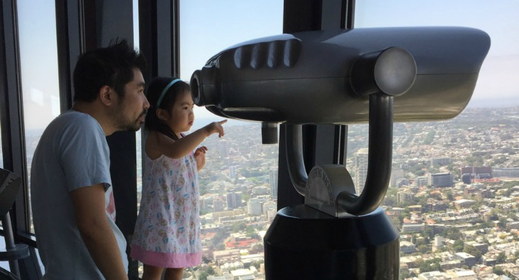 family time at tower eye
