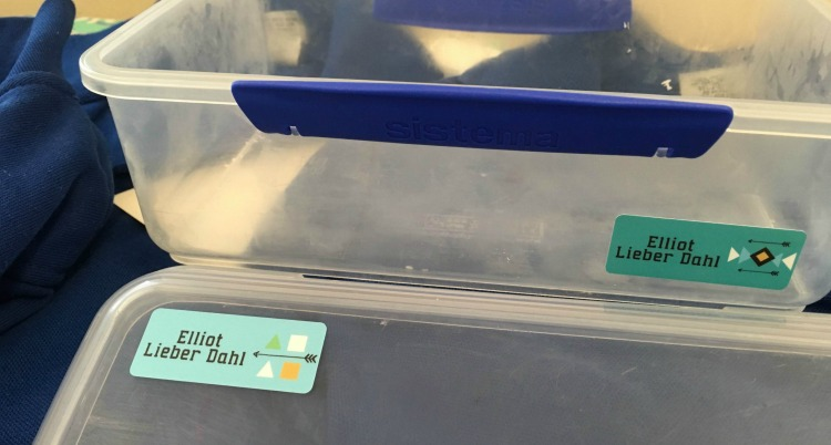 lunchbox labels