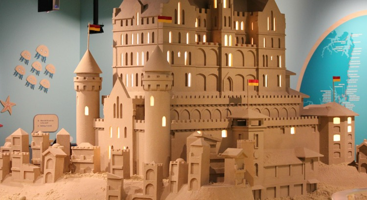 Sand Lego A Winning Combination At The Museum Of Sydney