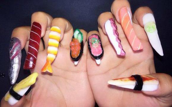 sushi nails 2