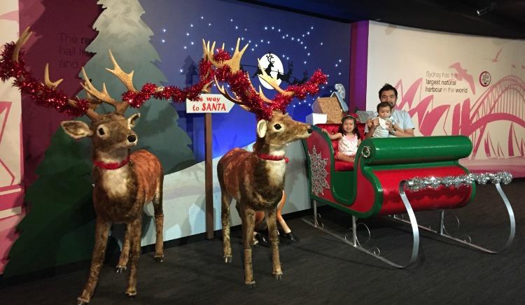 tower eye santa sleigh