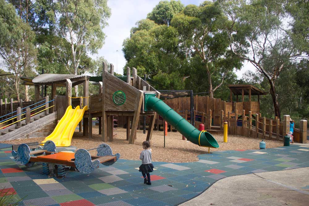 Melbourne's best playgrounds for babies and toddlers | Hays Paddock