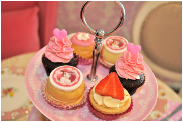 High Tea In Paris cupcakes