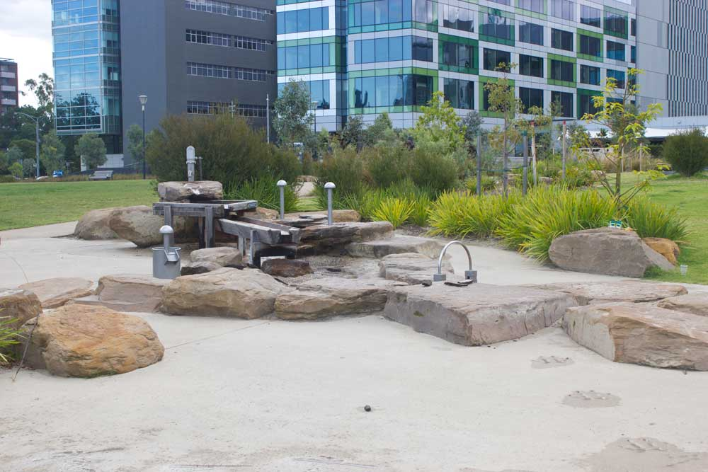 Six of the Best Water Splash Parks in Melbourne | Nature Play Park, Parkville