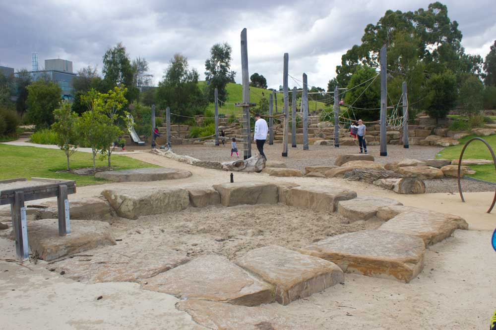 9 of Melbourne's Best Playgrounds for Babies and Toddlers | Nature Play Royal Park