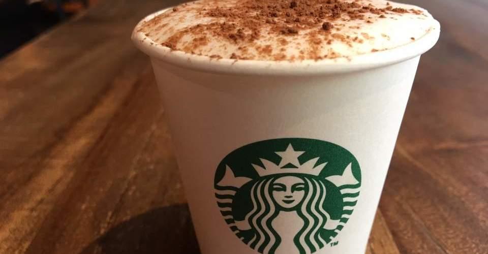 Starbucks babycino