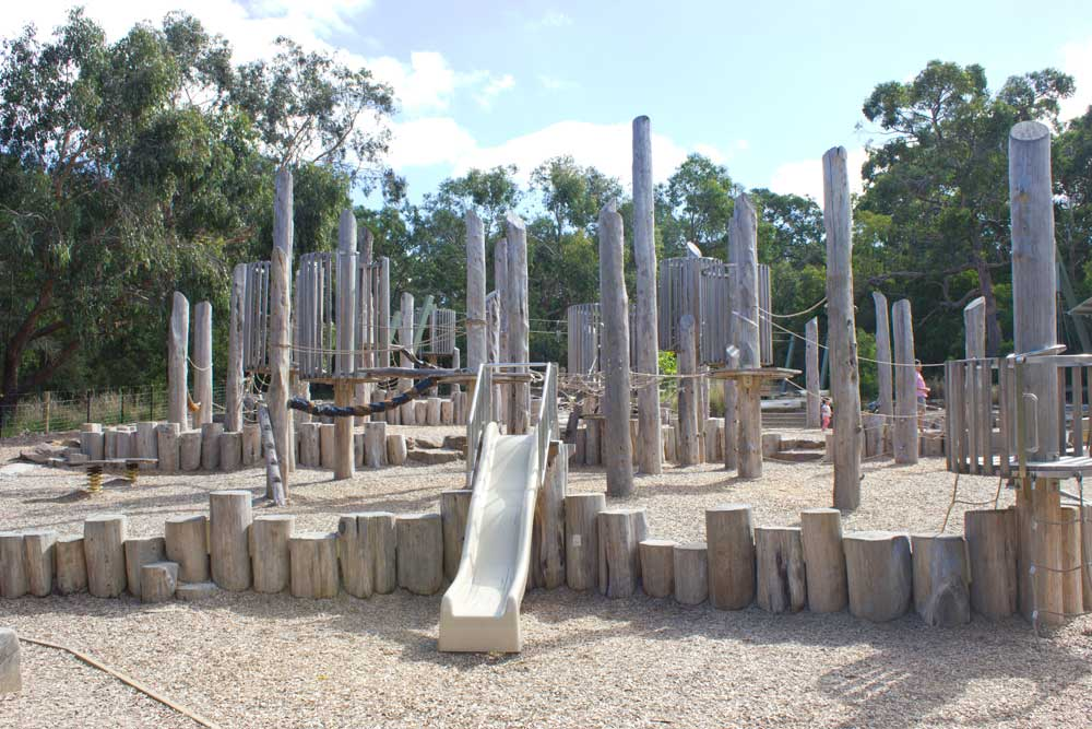 Six of the Best Playgrounds in Melbourne | Valley Reserve Adventure Playspace