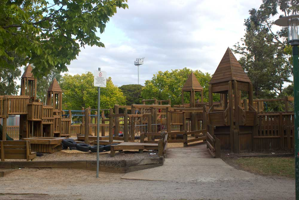 Six of the Best Playgrounds in Melbourne | Victory Park, Moonee Ponds