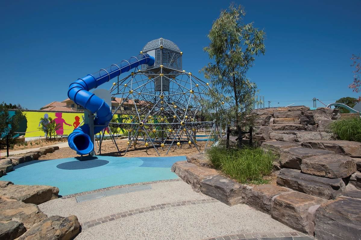 Fun at Melbourne's Newest Playgrounds | Booran Reserve